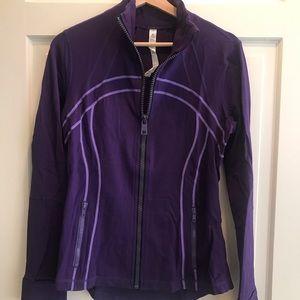 Lululemon Define Jacket Purple EUC 12